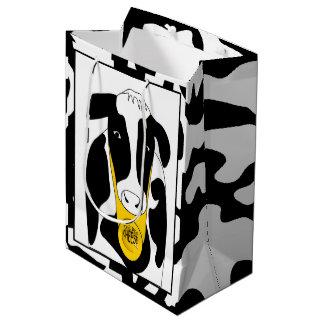 Funny Cow Big Cheese Boss  MGB Medium Gift Bag