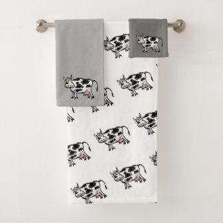 Funny Cow Custom Towel Set