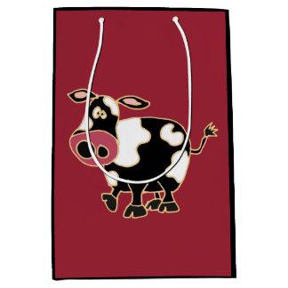 Funny Cow Gift Bag