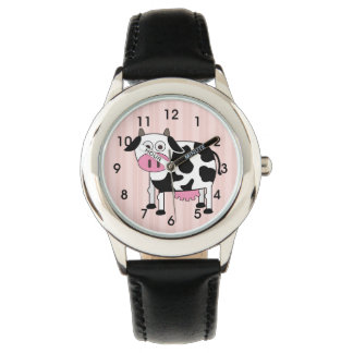 Funny Cow Kid's Watch