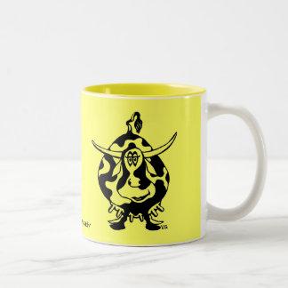 Funny cow mug design
