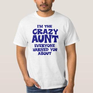 Funny Crazy Aunt Tshirts