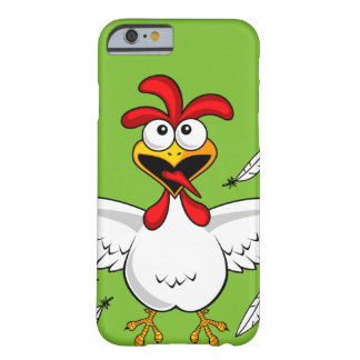Funny Crazy Cartoon Chicken Wing Fling Barely There iPhone 6 Case