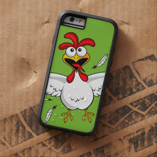 Funny Crazy Cartoon Chicken Wing Fling Tough Xtreme iPhone 6 Case