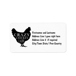 Funny Crazy Chicken Lady Poultry Lover