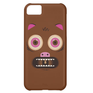 Funny crazy monster iPhone 5C cases