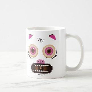 Funny crazy monster coffee mug