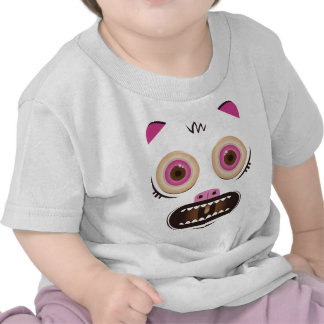 Funny crazy monster tee shirts