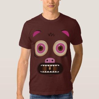 Funny crazy monster tshirt