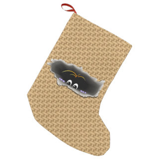Funny Creature Small Christmas Stocking