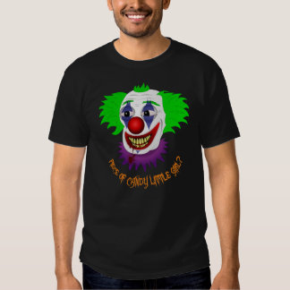 Funny Creepy Clown Shirt