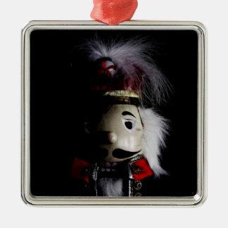 Funny Creepy Nutcracker Metal Ornament