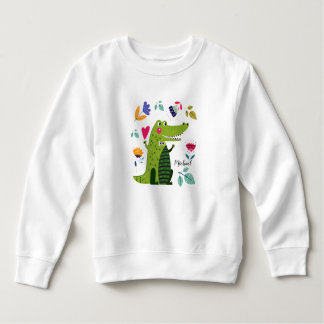 Funny Crocodile Gift Baby Sweatshirts