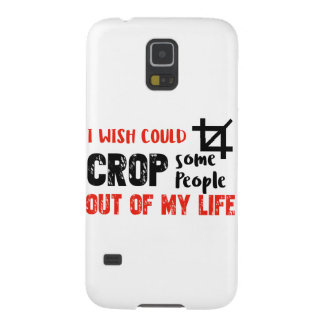 Funny crop people Geek designs Cases For Galaxy S5