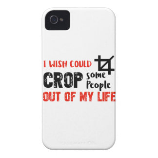 Funny crop people Geek designs iPhone 4 Cover