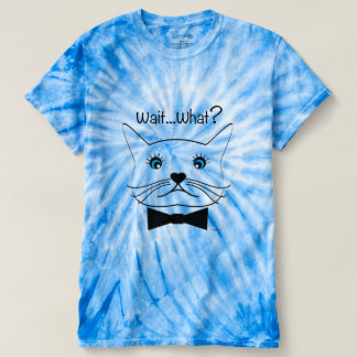 Funny cross-eyed Cat, Cool Men's Cyclone Tie-Dye T-shirt