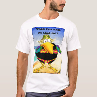 Funny Crow Beach Summer Vacation T-Shirt