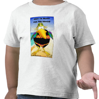 Funny Crow Beach Summer Vacation Shirts