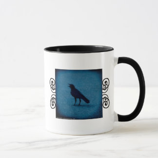 Funny crow Estonian definition mug