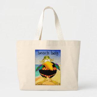 Funny Crow in Bikini tote bag