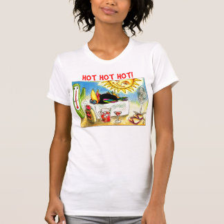 Funny Crow Summer Vacation T-Shirt