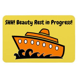 Funny Cruise Cabin Door Magnet - Beauty Rest