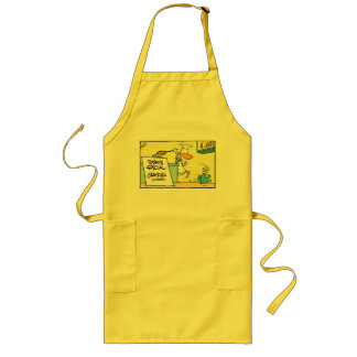Funny Crustacean Cartoon Chef Apron