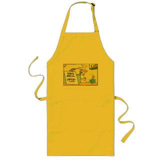 Funny Crustacean Cartoon Chef Apron