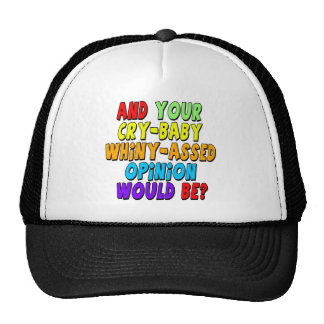 Funny Cry Baby T-shirts Gifts Hats