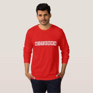 Funny Cryptocurrency Bitcorn Men's T-Shirt