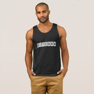 Funny Cryptocurrency Bitcorn Men's Tank Top