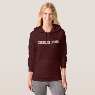 Funny Cryptocurrency Bitcorn Women's Hoodie