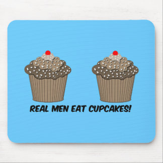 funny cupcakes mouse pad