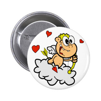 Funny Cupid 2 Inch Round Button