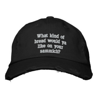 Funny Custom Distressed Baseball Cap