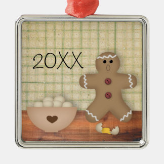 Funny Custom Gingerbread Man Ornament