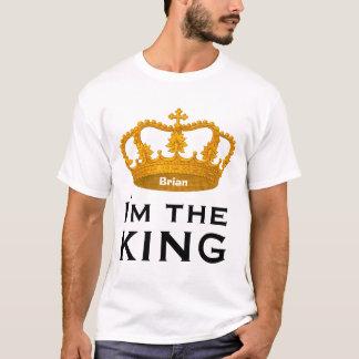 Funny Custom Name I AM THE KING Gift V01F T-Shirt