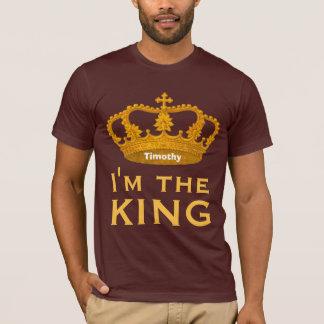 Funny Custom Name I AM THE KING Gift V01G T-Shirt