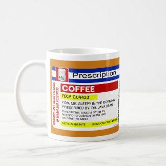 Funny Custom Personalized Prescription Coffee Mug