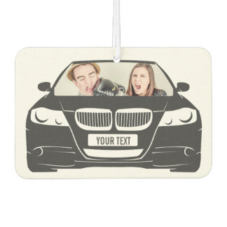 Funny Custom Photo Car Frame Car Air Freshener