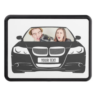 Funny Custom Photo Car Frame Trailer Hitch Cover