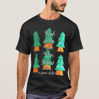 Funny Custom Pun Gift for His Writers Life Shirt