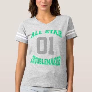 Funny Custom Troublemaker T-shirt