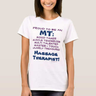 Funny CUSTOMIZABLE Massage Therapist Therapy Humor T-Shirt