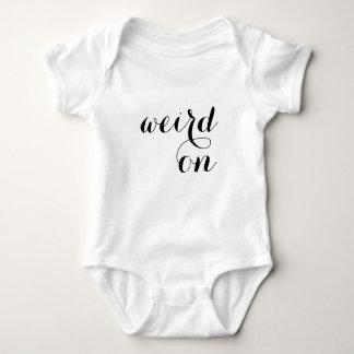 Funny Cute Baby Bodysuit - Weird On