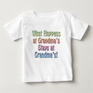Funny Cute Baby T-Shirt, Grandma's House Baby T-Shirt
