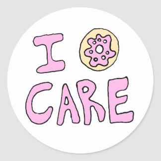 Funny Cute Donut Stickers