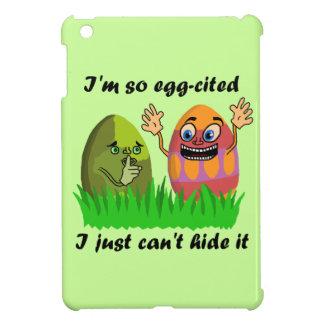 Funny Cute Easter Eggs Cartoon Cover For The iPad Mini