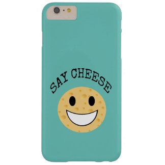 funny cute joke say cheese barely there iPhone 6 plus case