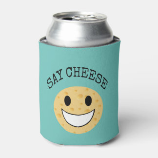 funny cute joke say cheese can cooler